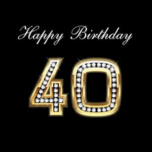 40 anni 40 % di sconto