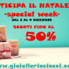 SCONTI SPECIAL WEEK -50%