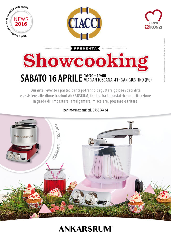 SHOWCOOKING ANKARSRUM