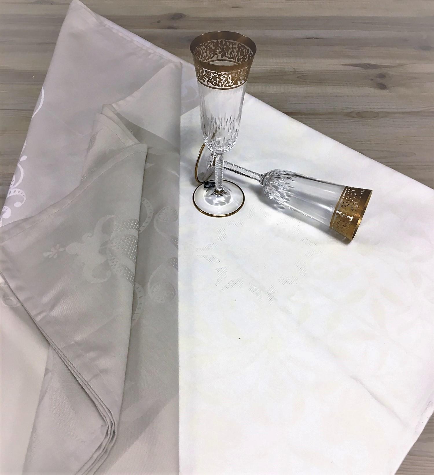 tovaglia venezia beigie bianca grigia