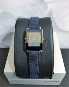 rado blue gold