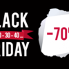 BLACK FRIDAY – 29 Novembre 2019