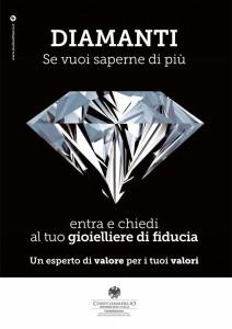 Campagna pubblicità diamanti